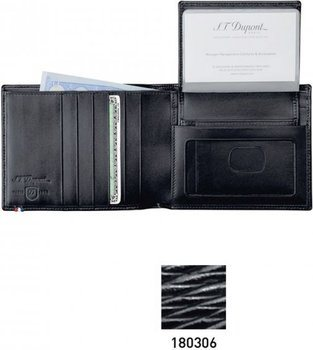 Line D Wallet for Credit Cards And Pass – Black Contraste
