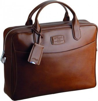 S.T. Dupont Line D Document Carrier – Brown Elysée 181103