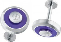Cuff Links Purple