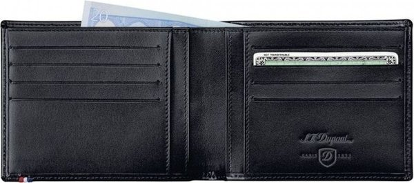 Line D - Billfold Credit Cards & Id - Elysée Black