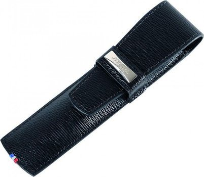 S.T. Dupont Line D Single Pen Case – Black Contraste 180317