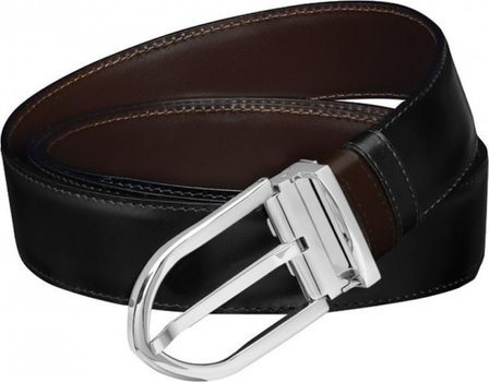 Line D Belt Business Reversible Black Brown